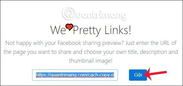 Hướng dẫn chi tiết tùy chỉnh link share trên facebook