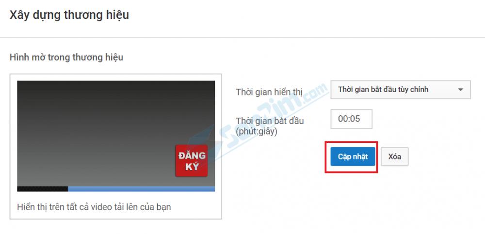 Hướng dẫn cách tạo nút đăng ký trên Youtube mới nhất 2020