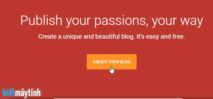 Cách tạo Blog bán hàng miễn phí bằng Blogspot mới nhất 2020