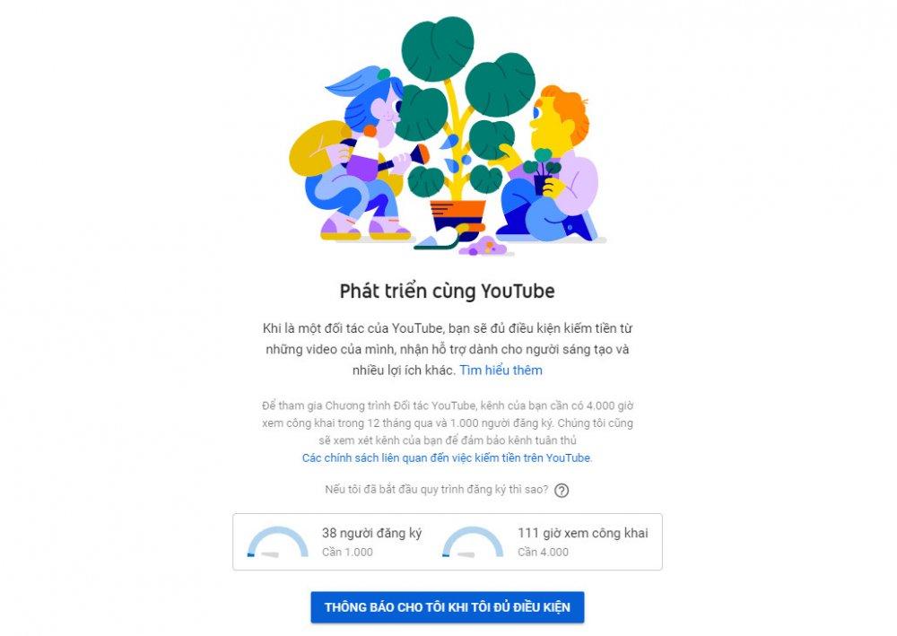 Hướng dẫn cách kiếm tiền bằng Youtube mới nhất 2020