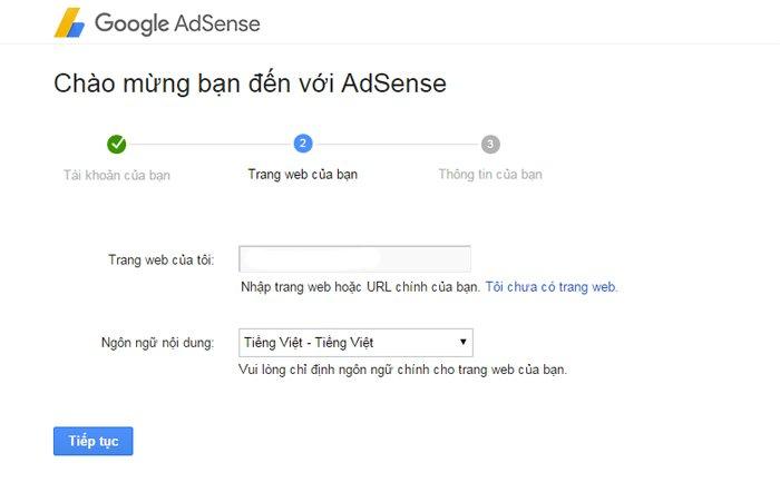 tài khoản google adsense ảnh 1