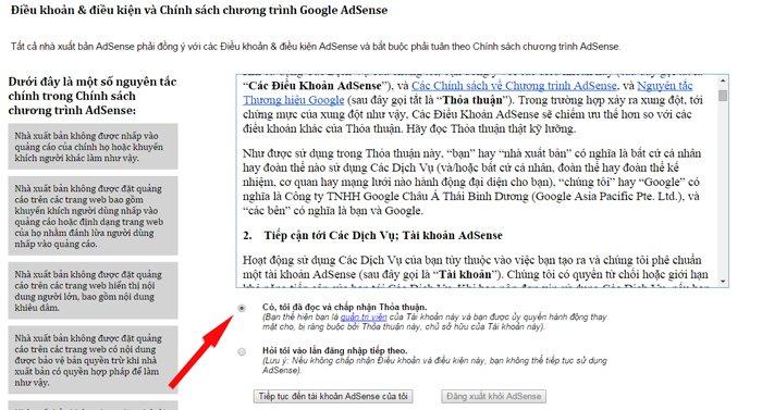 tài khoản google adsense ảnh 4