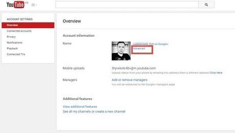 đổi tên kênh Youtube