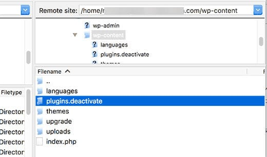 khắc phục lỗi WordPress